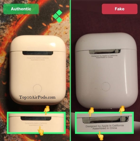 AirPods-Case-AirPods-Fake-Vs -Real-Top10AirPods.com