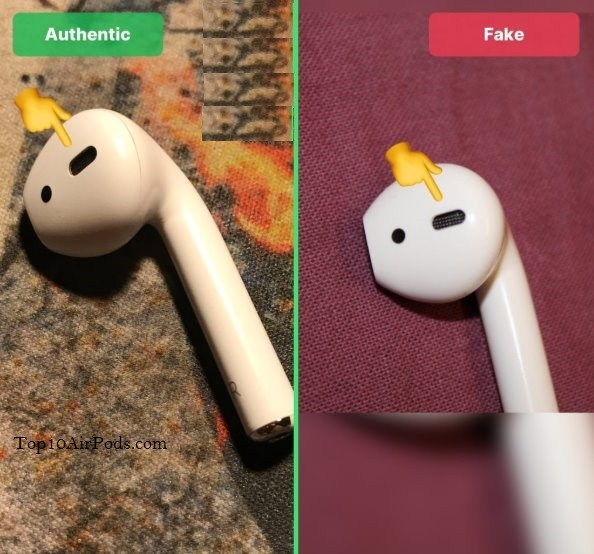 Diffusor-AirPods-Fake-Vs-Real-Top10AirPods.com